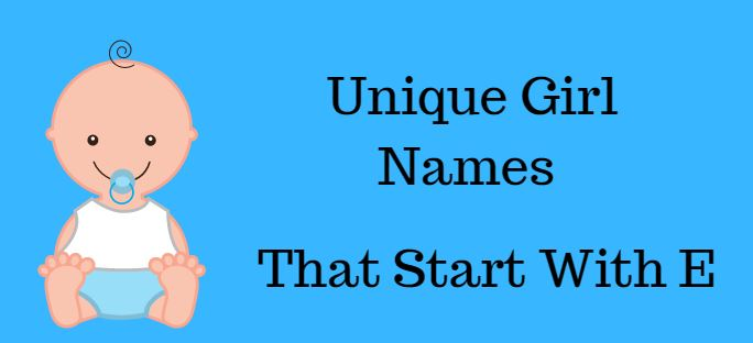 Girl names start with e