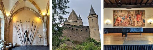 Day trips from Luxembourg City: Vianden Castle