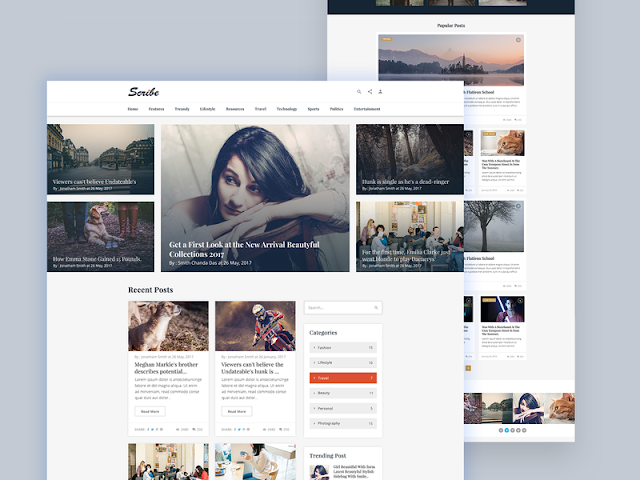 Jasa redesign template blog, jasa edit template bloggger