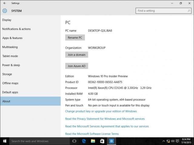 ضم جهاز Windows 10 الى الدومين