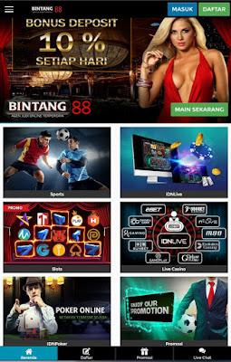 MAINBINTANG.COM | BINTANG88