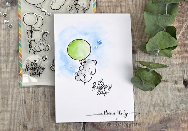 Elephant, Balloon, One layer, LIM, CAS, Mama Elephant