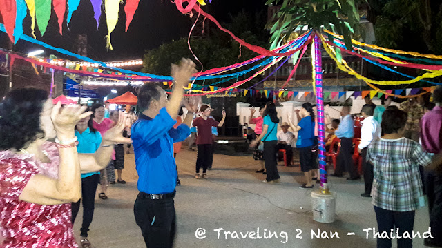 Walking Street Market in Pua, Nan - Thailand