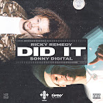 Ricky Remedy - Did It (feat. Sonny Digital) - Single Cover