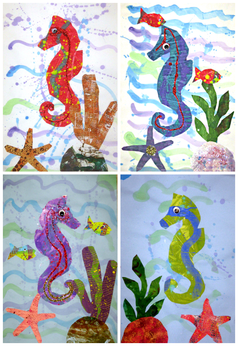 River Bliss Seahorses Inspired By Eric Carle