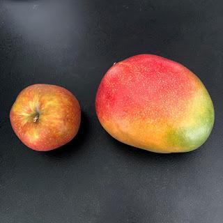 Mangue et pomme