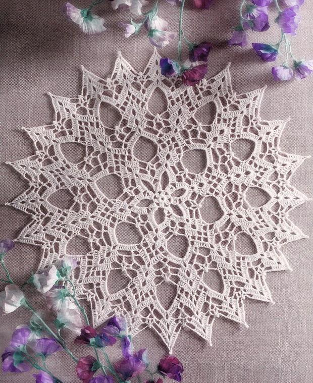Easy Crochet Doily pattern and