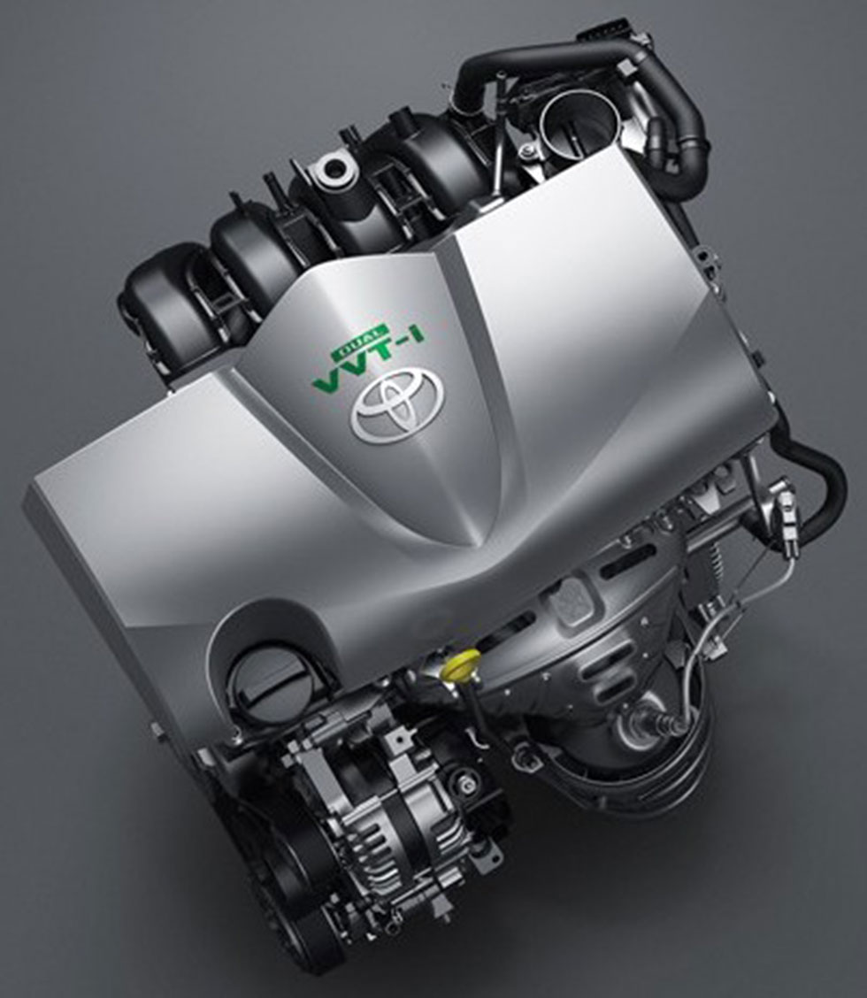 2016 Toyota Vios Engine
