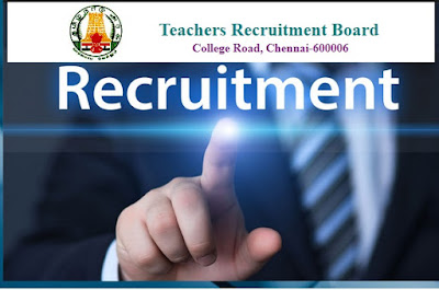 TN TRB Polytechnic Lecturer Teacher Notification 2018 [Tamil Nadu Teachers Recruitment Board]