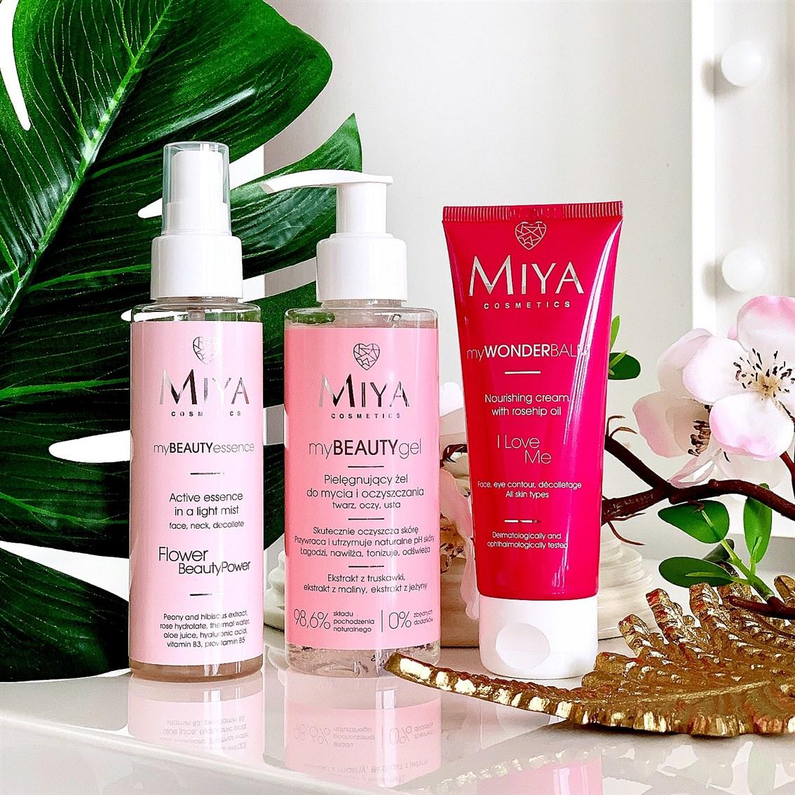 Miya Cosmetics plan pielęgnacji twarzy