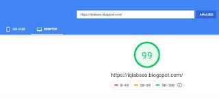 cara cek kecepatan blog