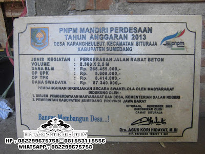 Jual Prasasti Marmer Murah Di Jakarta