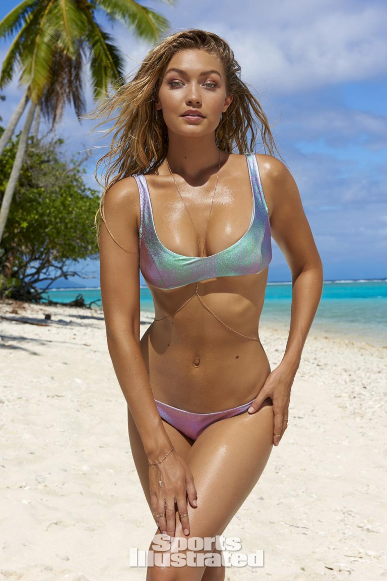 Gigi Hadid for Sports Illustrated Swim 2016
