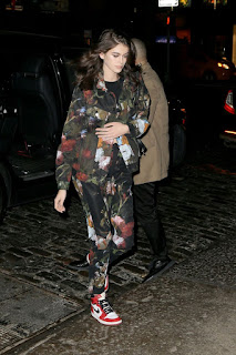 Kaia Gerber Arrives At Her Hotel In New York