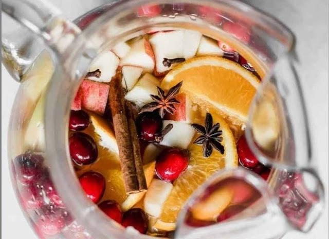 Apple Cider Sangria #drinks #cocktails