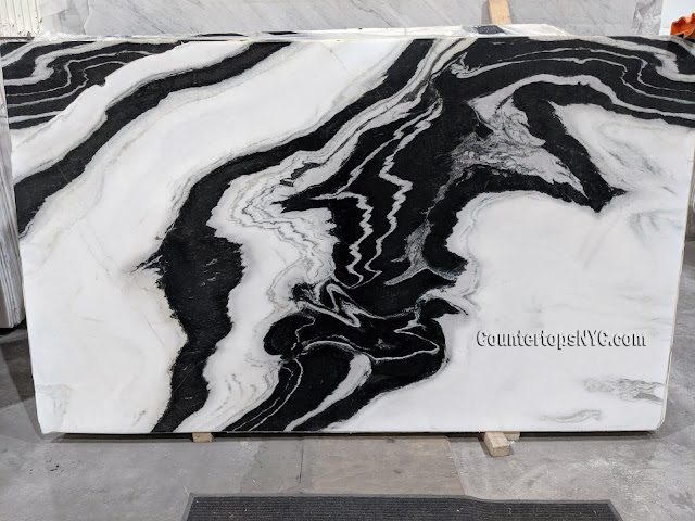 Panda White Marble Slabs NYC