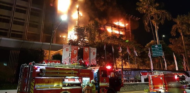 Korona Watch: Siapa Di Balik Kebakaran Kantor Kejaksaan Agung?