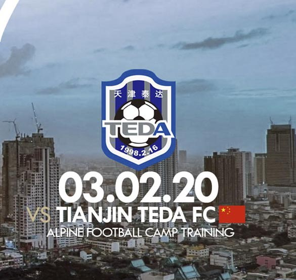 Live Streaming Terengganu vs Tianjin Teda FC 3.2.2020.