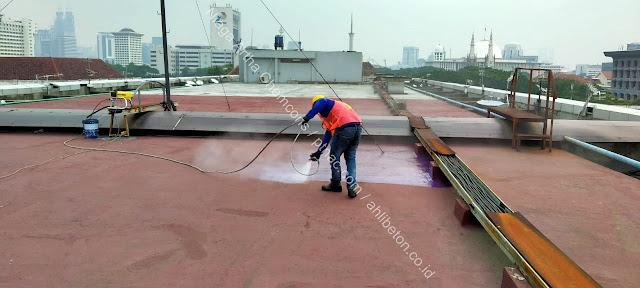 Jasa Waterproofing Coating Spray