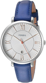 Fossil Jacqueline Date Leather Watch $50 (reg $95)