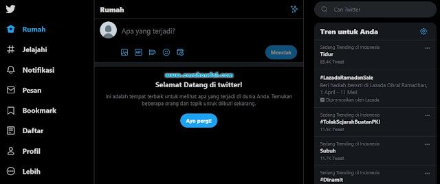 Cara Membuat Akun Twitter,selamat datang di twitter