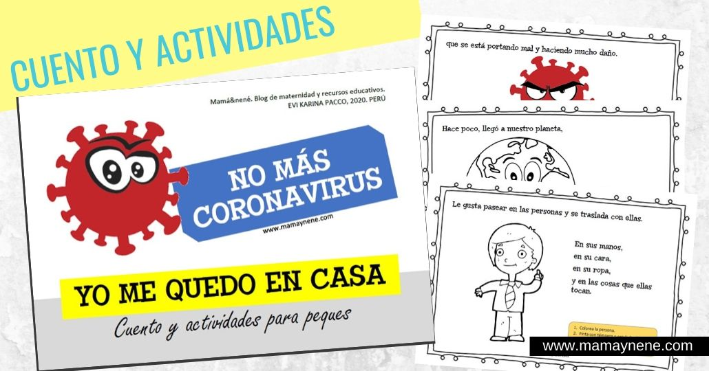 CUENTO-CORONAVIRUS-MAMAYNENE-MATERNIDAD- FAMILIA