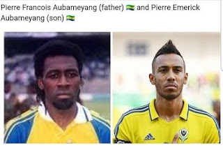 Father And Son- Meet Pierre Emerick Aubameyang's Father Pierre-Francois Aubameyang