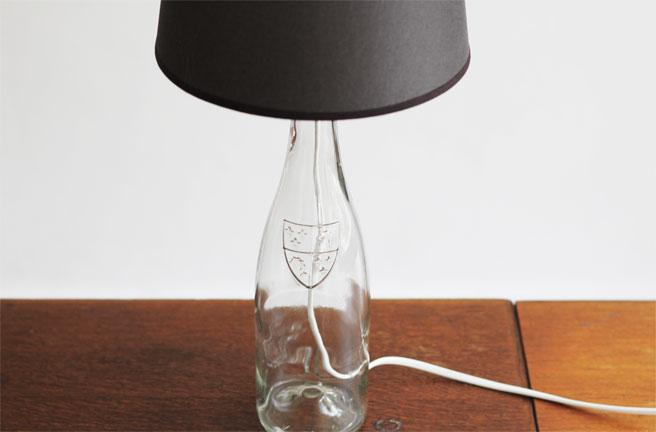 Top la reines blog: Mit Flaschen basteln: Der selbstgemachte Lampenschirm IJ96