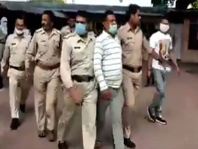 Ujjain police arrested UP's Most Advanced Vikas Dubey