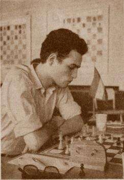 Carlos Bielicki, campeón del Campenato Mundial Juvenil de Ajedrez 1959