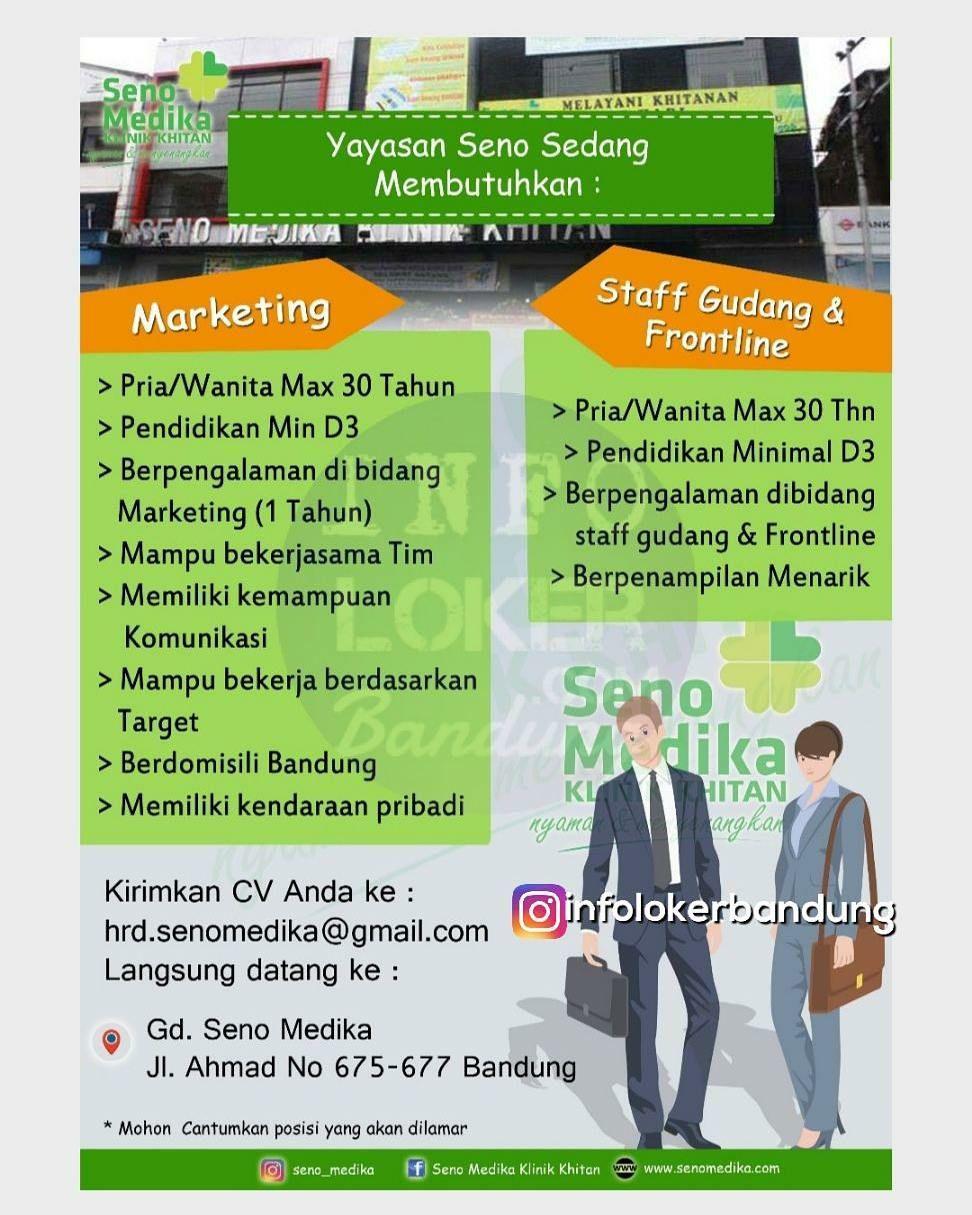 Lowongan Kerja Seno Medika Bandung Februari 2018