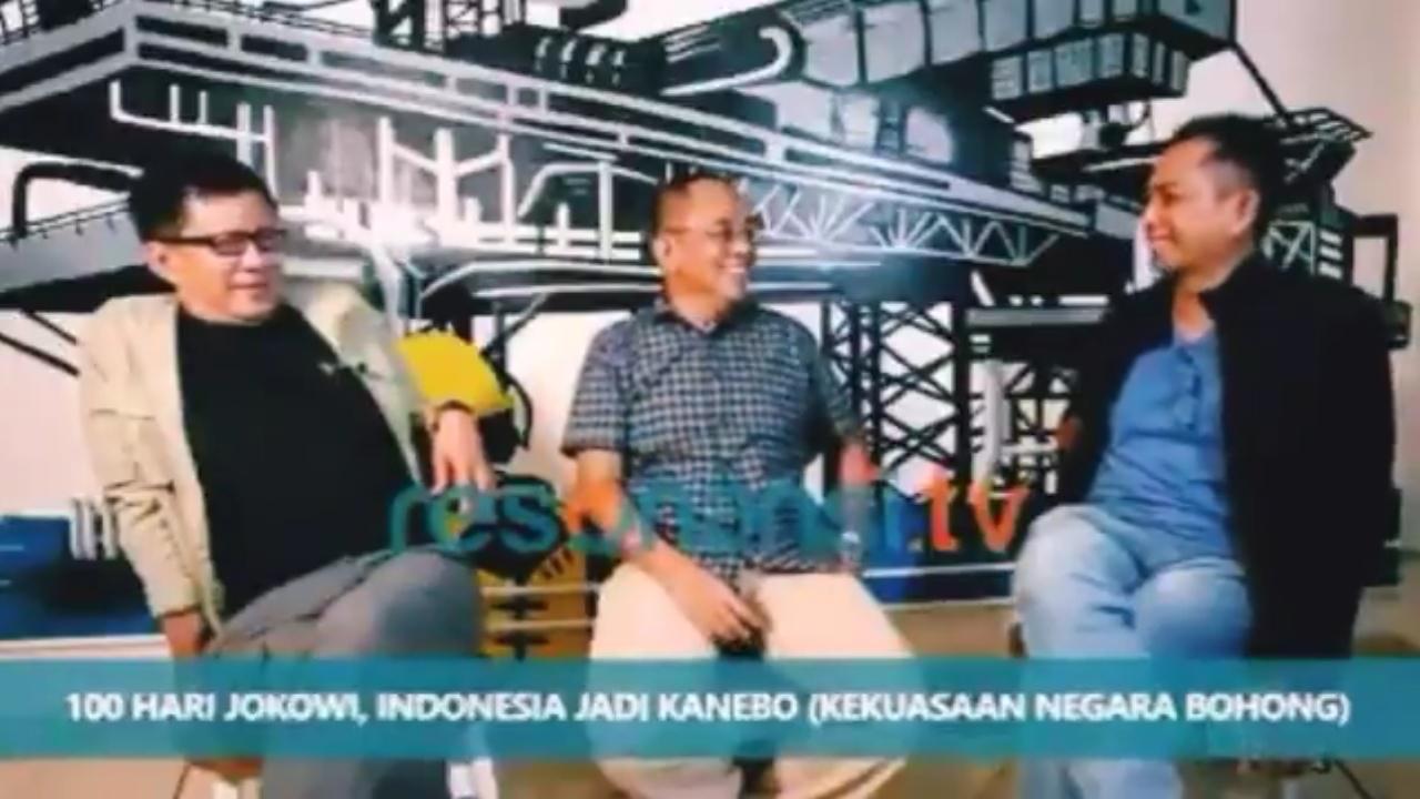 Ditanya Nilai 100 Hari Jokowi-Ma'ruf, Jawaban Rocky Mengejutkan
