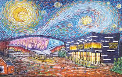 Ahoy Rotterdam Like Van Gogh by Erika Stanley
