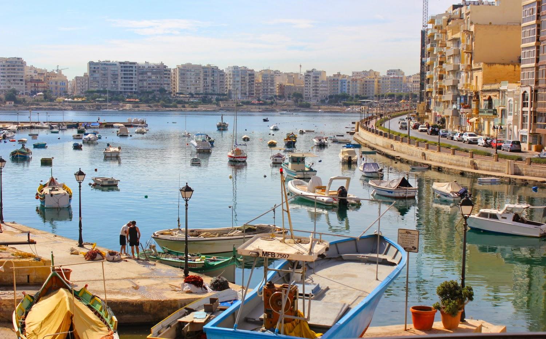 Spinola Bay a St. Julian's - foto di Elisa Chisana Hsoshi