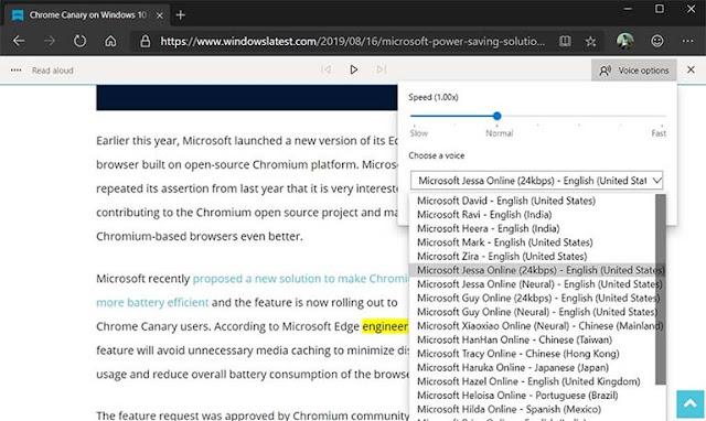 Microsoft Edge Pada Windows 10 Dapat Tombol Media Play Dan Pause