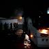 Ônibus da São Luiz pega fogo logo após sair da rodoviária de Jacobina