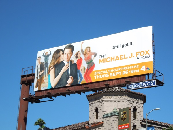 Michael J Fox Show season 1 billboard
