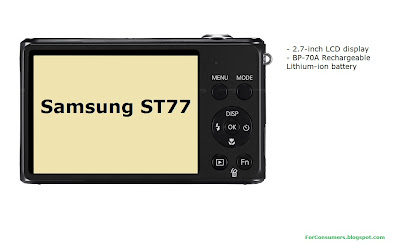 Samsung ST77 display