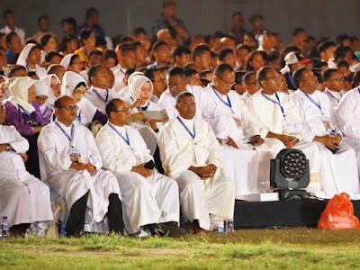 Pembukaan Pesparani Katolik Nasional Berlangsung Megah dan Meriah