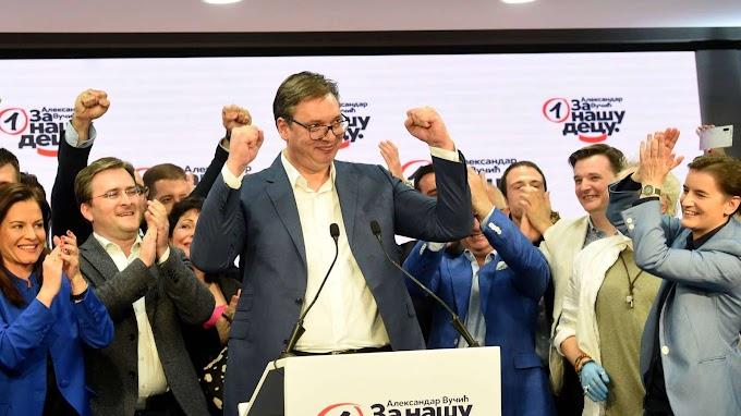 A Vajdaságban is a Szerb Haladó Párt győzött, a VMSZ a második