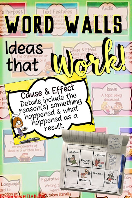 Here are 10 great ideas for using word walls in a middle school classroom.