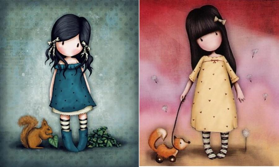 Dibujos De Gorjuss Santoro Para Colorear E Imprimir Gratis: Descubriendo A Suzanne Woolcott: Gorjuss