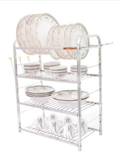 Home Creations 4 Layer Kitchen Dish Rack