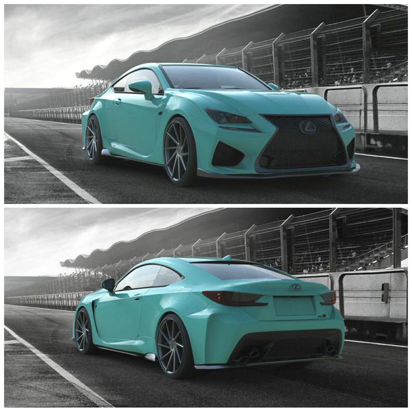 Lexus Charges Into SEMA With NX SUV And RC Coupe Concepts