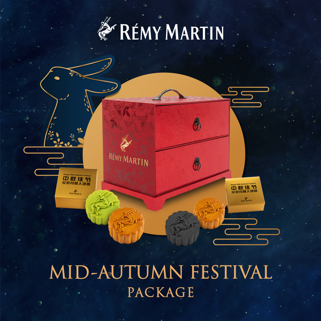Rémy Cointreau Malaysia: Gifts of mooncakes with cognac, whisky & gin to cheer the spirits