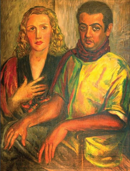Retrato de Rafael Díaz Niese y esposa