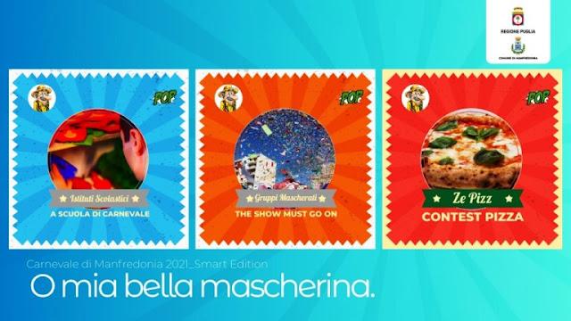 """Manfredonia il carnevale 2021 smart e web con """"POP – Officine Popolari"""""""