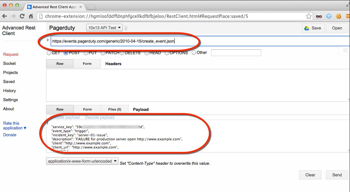 WhiteBoard Coder: Pagerduty API service (alert)