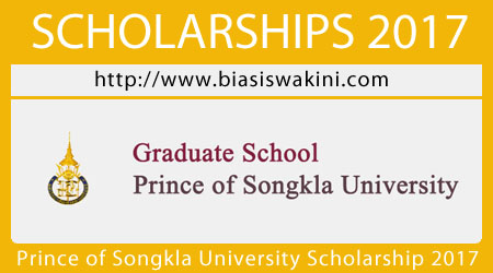 Prince Of Songkla University Scholarship 2017