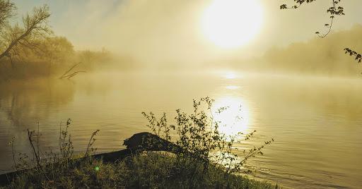 Sunrise on the St. Croix River